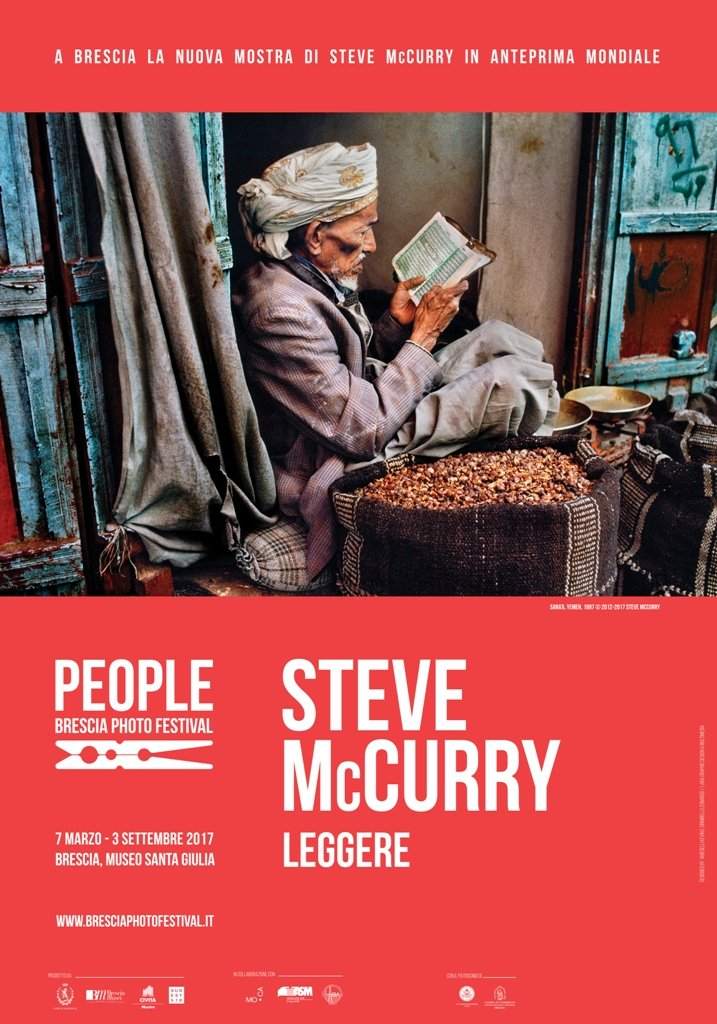 Leggere, Steve McCurry, zolleggiamo