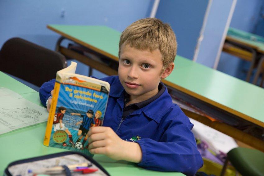 leggere alla scuola primaria, zolleggiamo