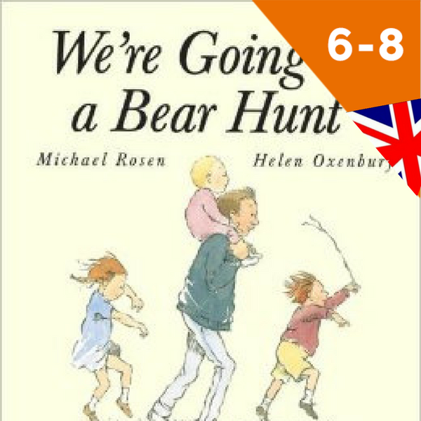 zolleggiamo, we're going on a bear hunt